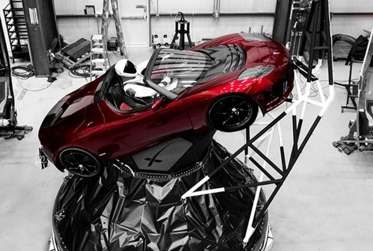 SpaceX Starman