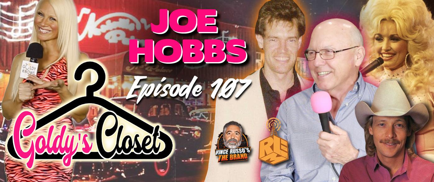 Goldy's Closet Brand Website Banner EPS #107 with Joe Hobbs