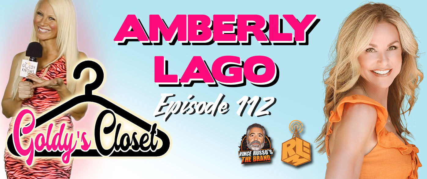 Goldy's Closet Brand Website Banner EPS #112 Featuring Amberly Lago