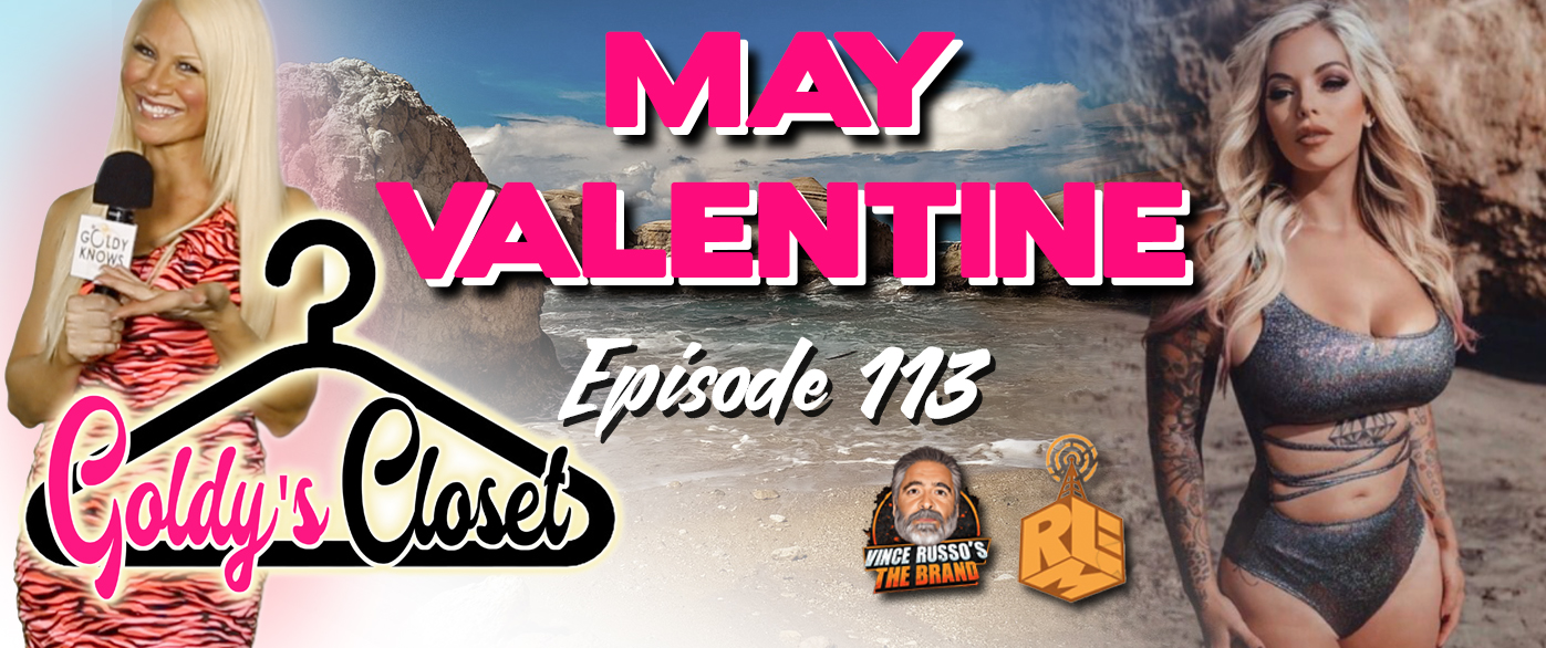 Goldy's Closet Brand Website Banner EPS #113 Featuring May Valentine