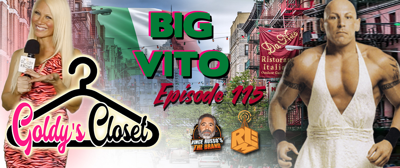 Goldy's Closet Brand Website Banner EPS #115 Featuring Big Vito