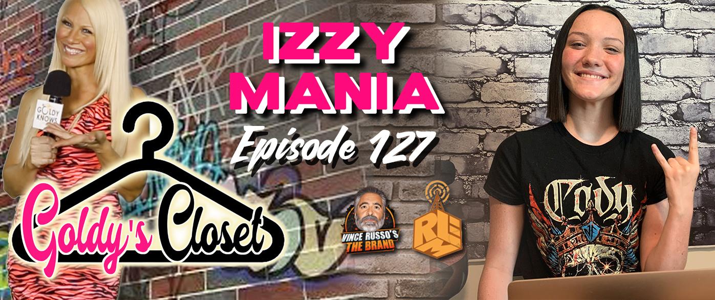 Goldy's Closet Brand Website Banner EPS #127 Izy Mania