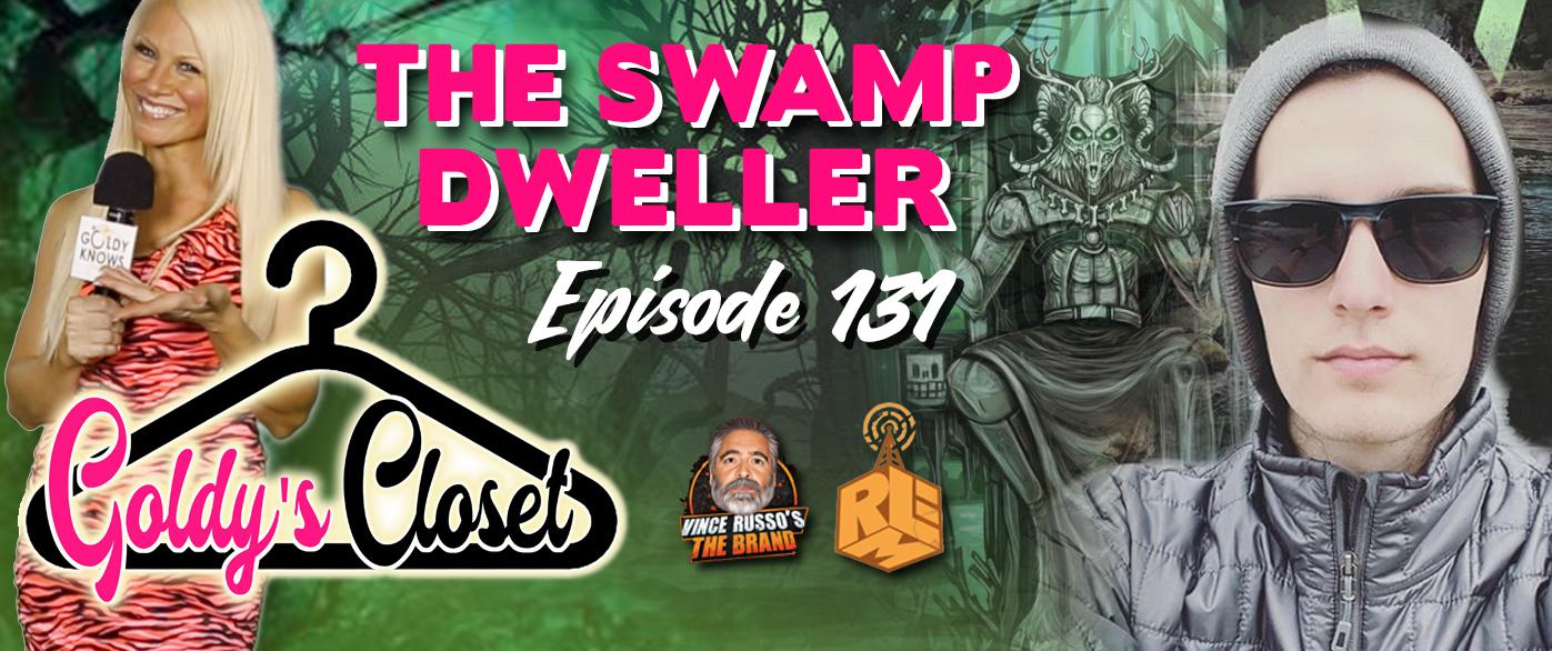 Goldy's Closet Brand Website Banner EPS #131 Swamp Dweller