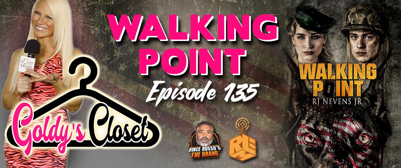 Goldy's Closet Brand Website Banner EPS #135 Walking Point